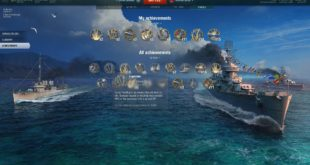 world of warships uspechy